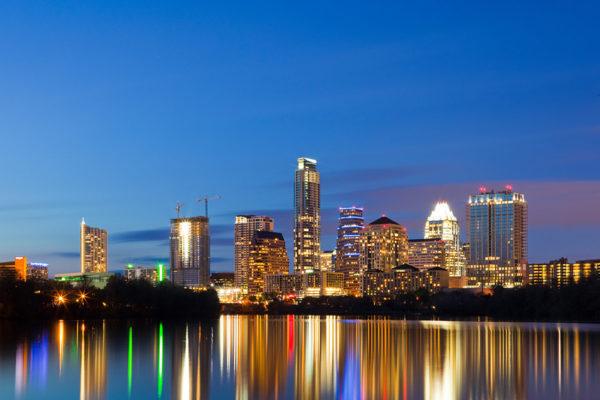 Austin Skyline featuring the Austonian