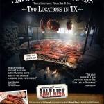 Salt Lick Advertisement in Dec. '09 Texas Monthly